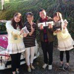 KBCラジオのディレクターと一緒に波田陽区さんと可愛い女子達が来てくれました